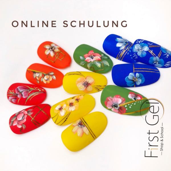 Online Schulung Blumen Design